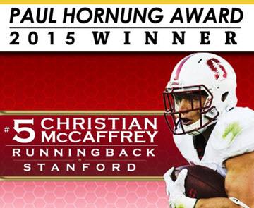 McCaffrey Hornung Winner